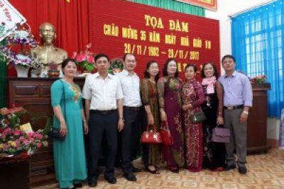 Hình ảnh tọa đàm 35 năm ngày Nhà giáo Việt Nam